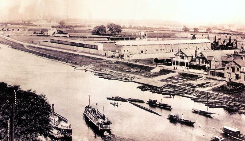 City Ground, Nottingham circa 1898