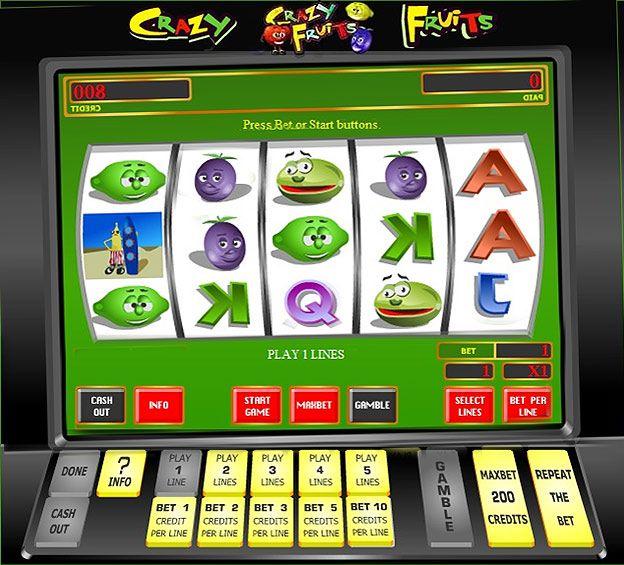 официальный сайт крейзи фрукт казино эльдорадо играть бесплатно