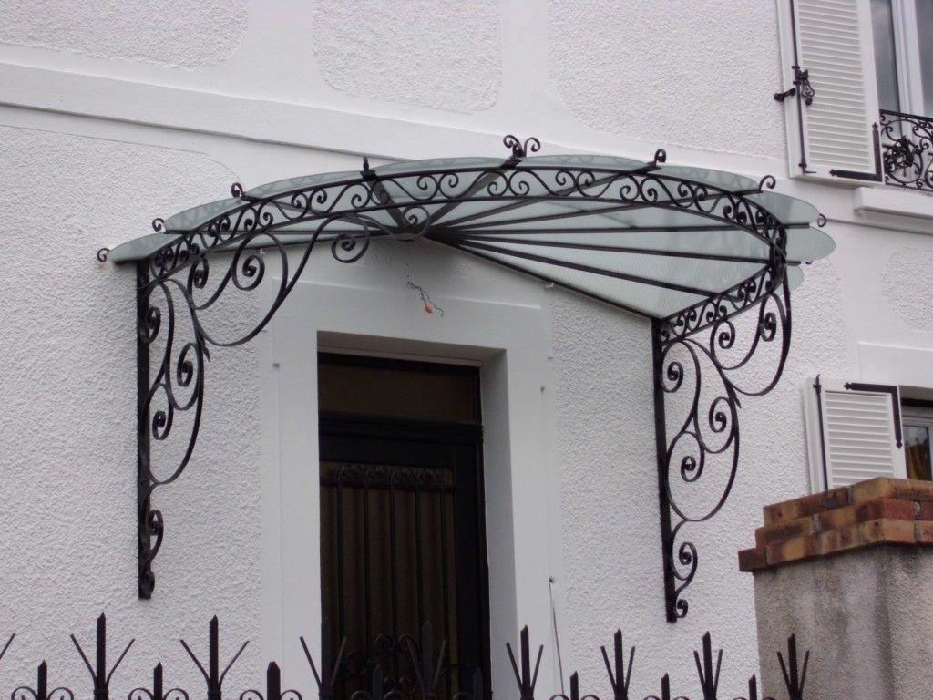 Porte en fer forge exterieur int rieur marquises et portes d 39 entr e l 39 art de faire - Porte fer forge exterieur ...