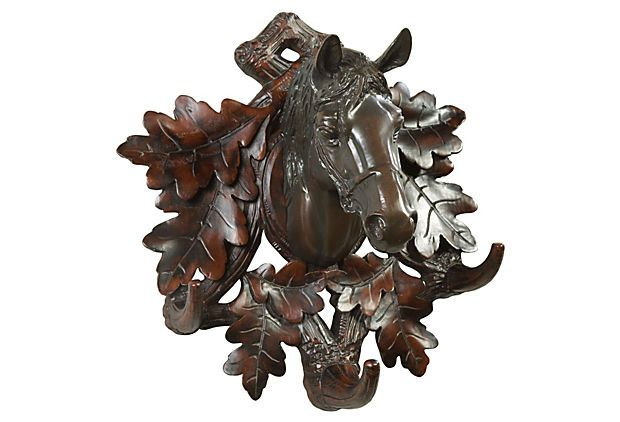 Horse 3-Hook Coat Rack on OneKingsLane.com