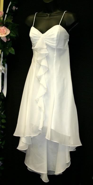 Simple And Elegant White Dress Vow Renewal Dress Simple Wedding Dress Short Short Wedding Dress