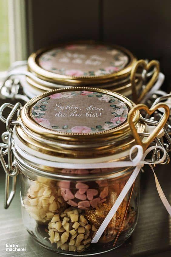 Gastgeschenke sind eine bleibende Erinnerung an euren schönsten Tag Beklebt si  Gastgeschenke sind eine bleibende Erinnerung an euren schönsten Tag Beklebt si...