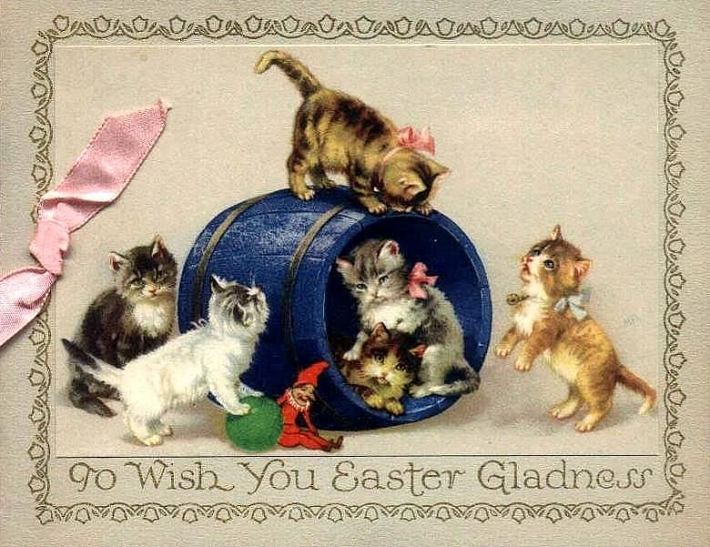 Pin By Wendy Whalen On Easter  Vintage Postcards  Ephemera