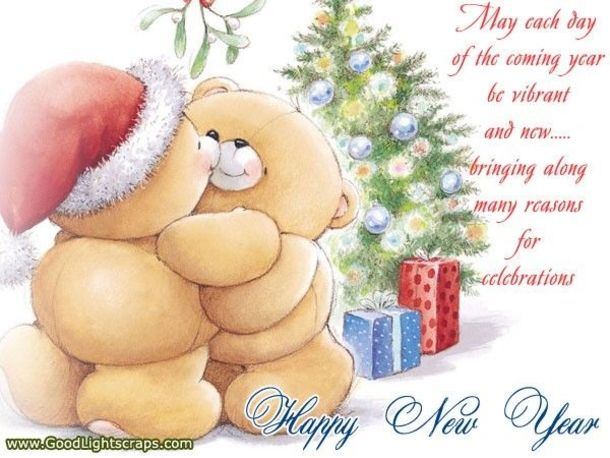 50 Best Happy New Years Quotes To Share With Friends And Family Forever Friends Bear Christmas Love Christmas Bear
