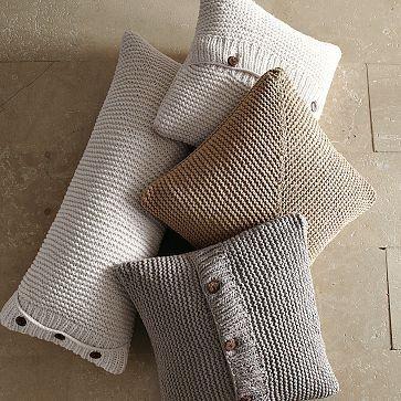 Knitted pillows | bebek örgüleri | Pinterest | Stricken, Kissen und ...