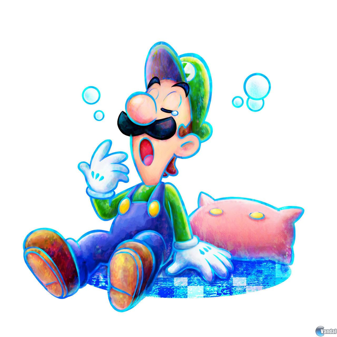 Mario and Luigi Dream Team by wizardofflames on deviantART
