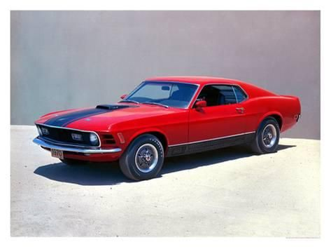 1970 Ford Mustang Mach 1 Giclee Print Art Com In 2020 1970 Ford Mustang Mustang Mustang Mach 1