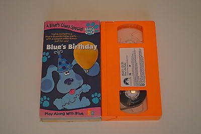 Blues Clues Blues Birthday Kids Videos