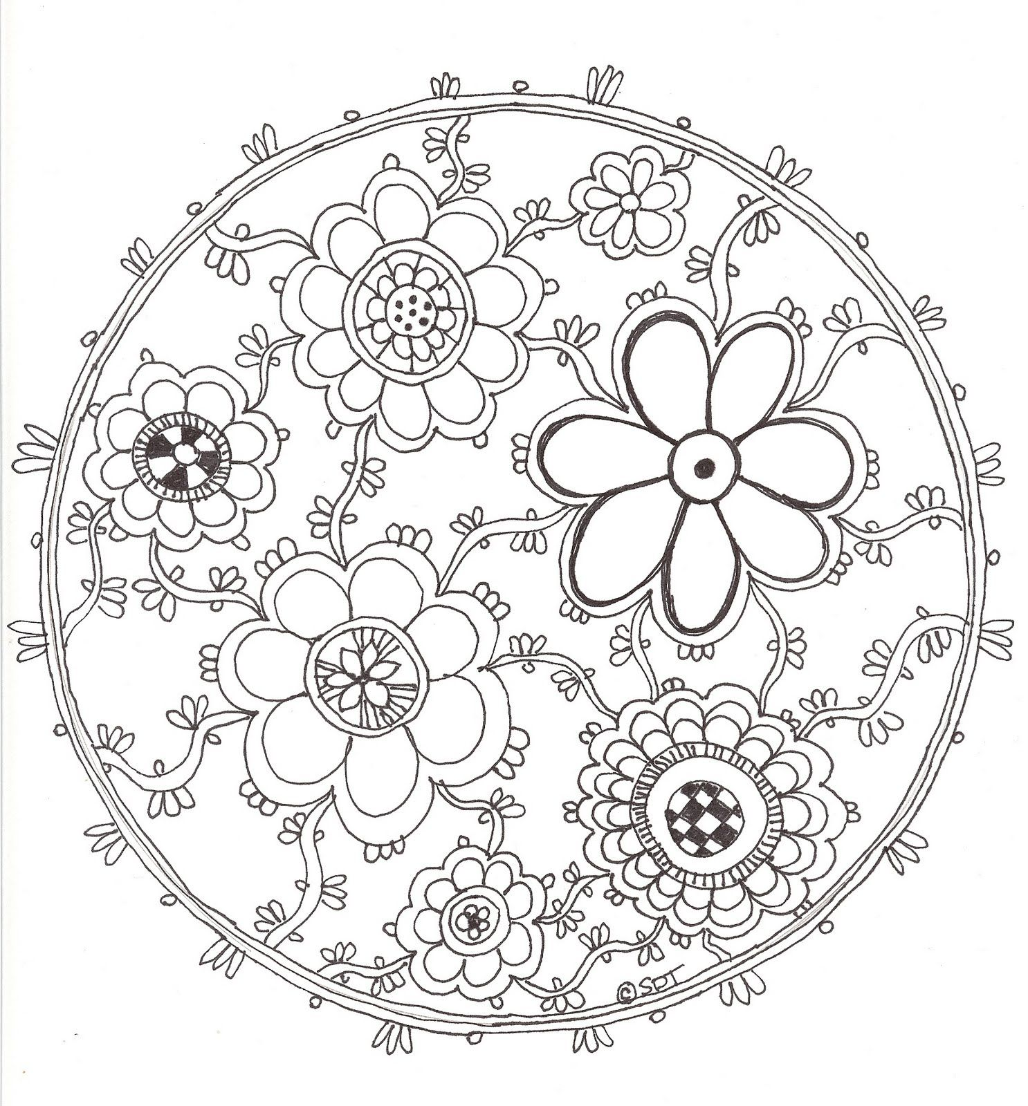 Pin By Janet Shirey On Mandalas Adult Coloring Pages