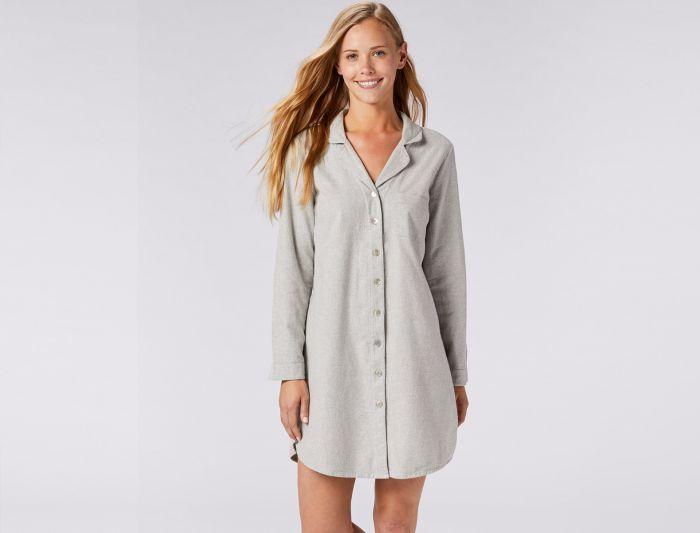 88077984ef Women s Cloud Brushed Flannel Sleep Shirt