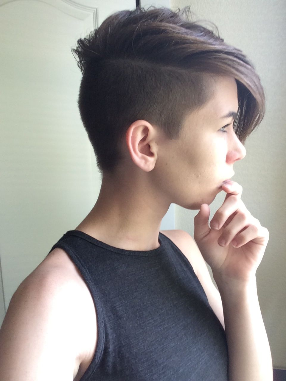 side cut | hair and beauty in 2019 | short hair undercut