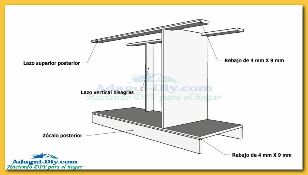 Como hacer muebles de cocina plano mueble bajo mesada de… | diseños ...