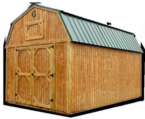 Graceland Lofted Barn | Acadiana Discount Portable ...