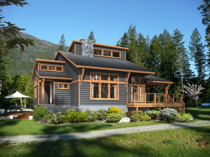 Kipawa model by beaver homes and cottages includes for House plans with virtual tours