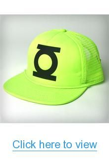 The Green Lantern Green Trucker Hat #Green #Lantern #Trucker #Hat