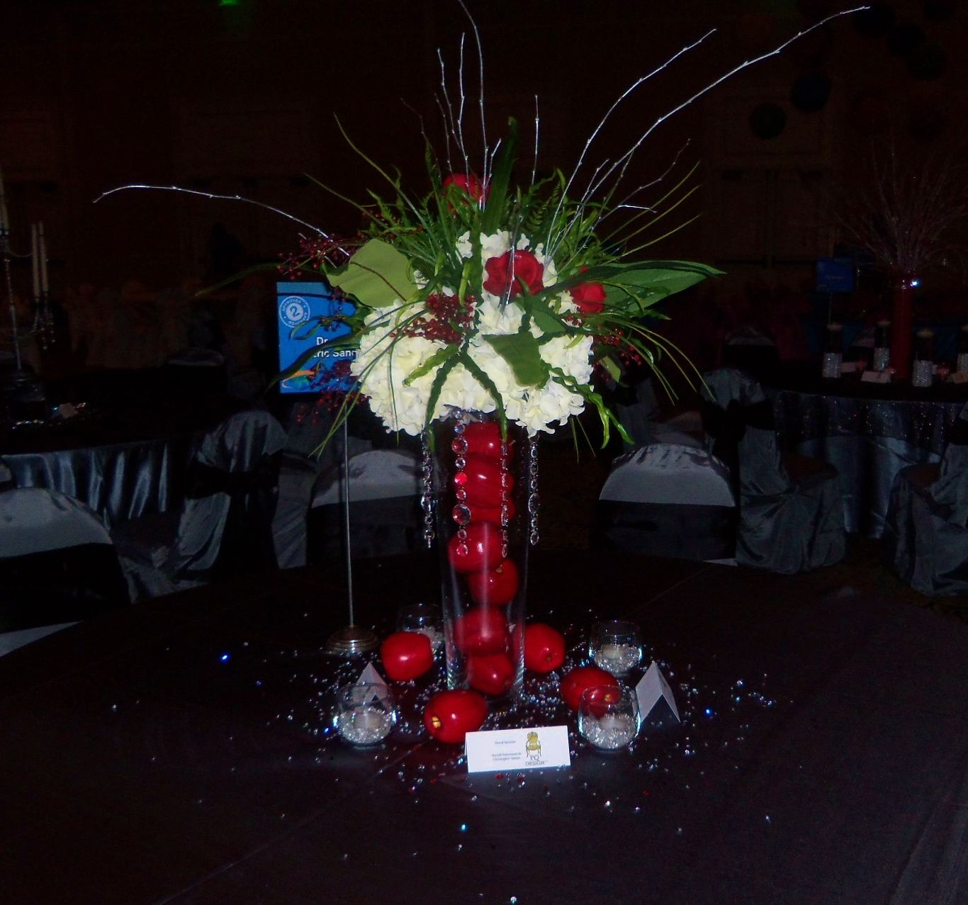 New York Theme Big Apple Centerpiece