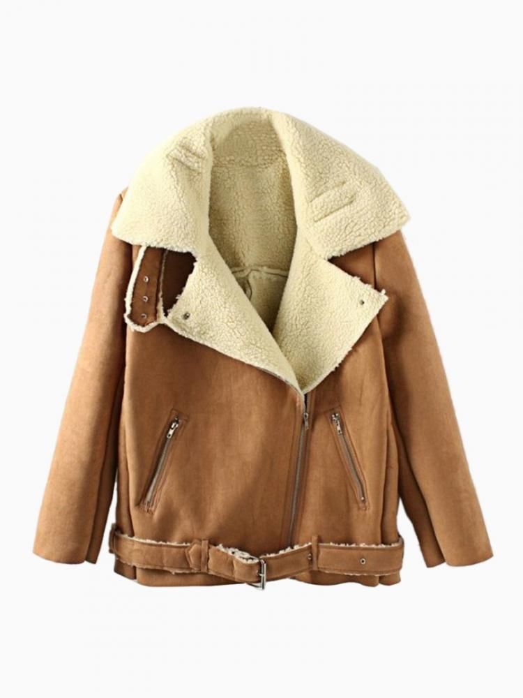 10 Best images about Shearling on Pinterest | Leather sleeves