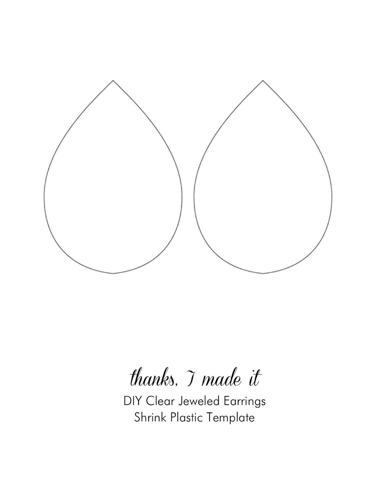 Free Printable Earring Cards By Amelialune On Deviantart Diy Jewelry Display Printable Jewelry Tags Earring Cards Template