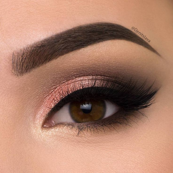 Peach Shimmery Smokey Eye *Click Pic for Makeup Details* (Pic ...