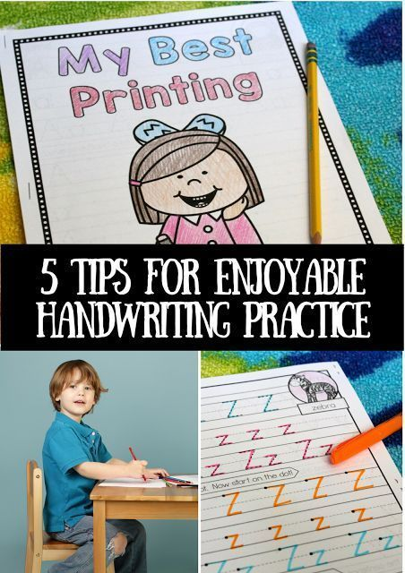 5 Tips for Enjoyable Handwriting Practice (either printed or cursive) - make handwriting fun and interesting for students! | printable hand writing worksheets | hand writing practice kids | learning to write letters printables | teaching writing | teaching handwriting | beginning writing ideas | teacher printables