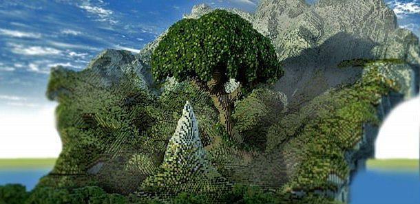 God Tree Minecraft World Save | Minecraft | Minecraft, Video