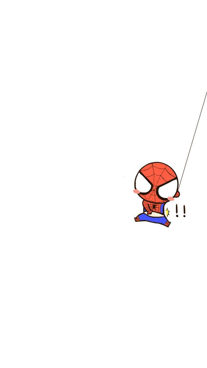 意外走光蜘蛛侠 菊长团字体手机壁纸 来自 基质的菊长大人 转载请