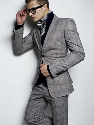 Grey Three Piece Suit. | Men's Fashion | Pinterest | Suits, Black ...