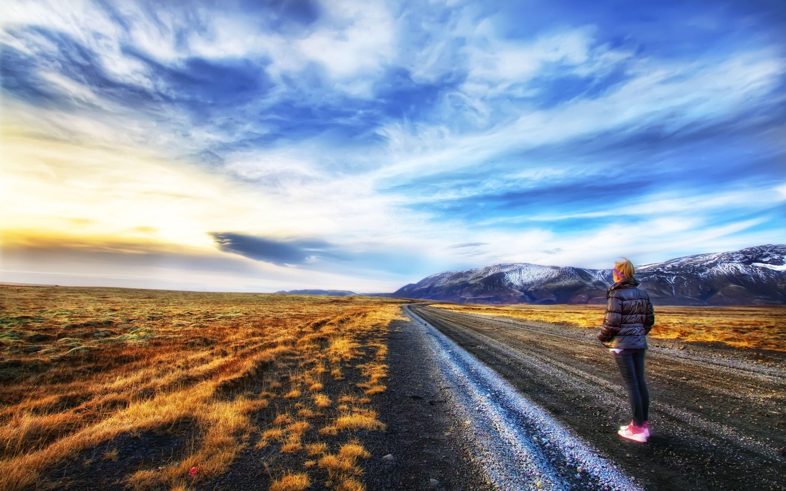 Fond D Ecran Hd Paysage Route