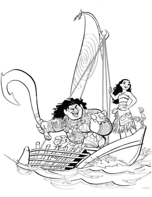20 Coloring Pages Of Moana On Kids N Fun Co Uk On Kids N Fun You Will Always Find The Best Coloring Disney Coloring Pages Moana Coloring Moana Coloring Pages