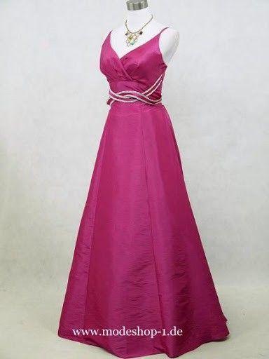 Abendkleid Peking Lang in Pink | Abendkleider 2018 - günstig ...
