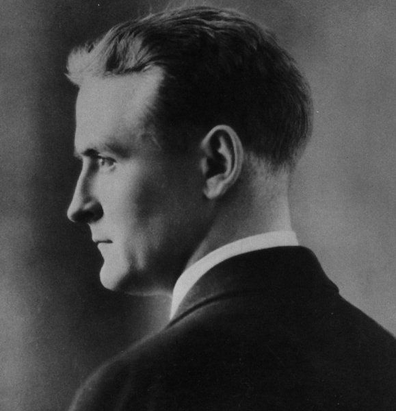 Sept 24 Is The 116th Anniversary Of F Scott Fitzgeralds Birthday