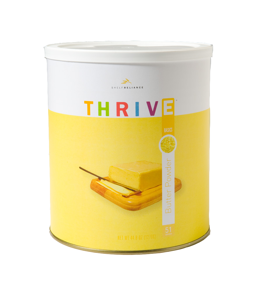 Product Highlight Butter Powder Thrive food storage