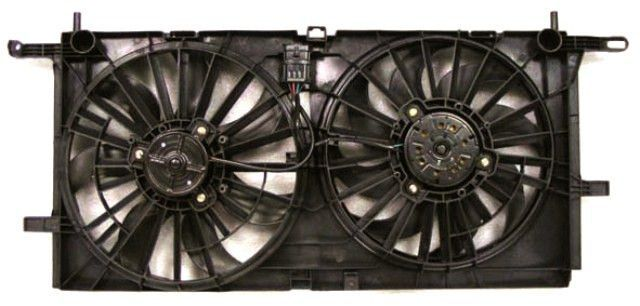 2005-2006 Chevrolet Uplander Radiator Cooling Fan W/ Rear AC Terraza/Uplander/Transport/Montana 05-06