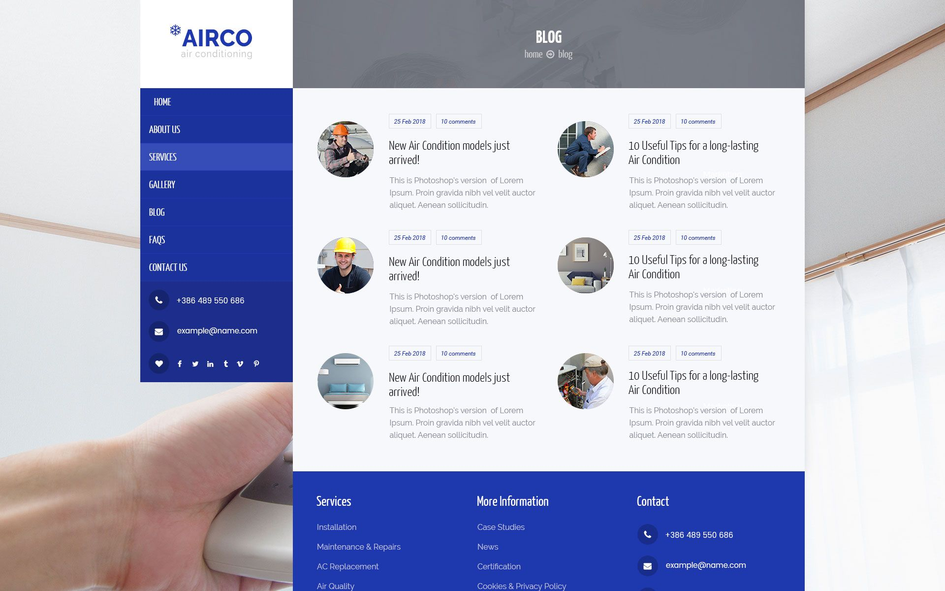 Airco Air Condition Heating And Air Conditioning Heating