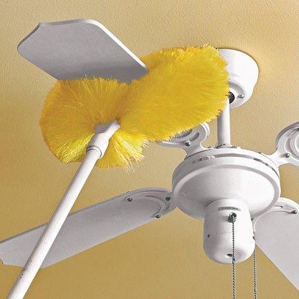 Clean Ceiling Fan Duster
