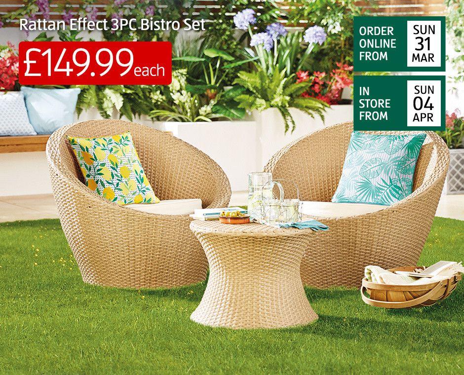 Outdoor Garden Furniture Garden Shop Aldi Aldi Uk Outdoor