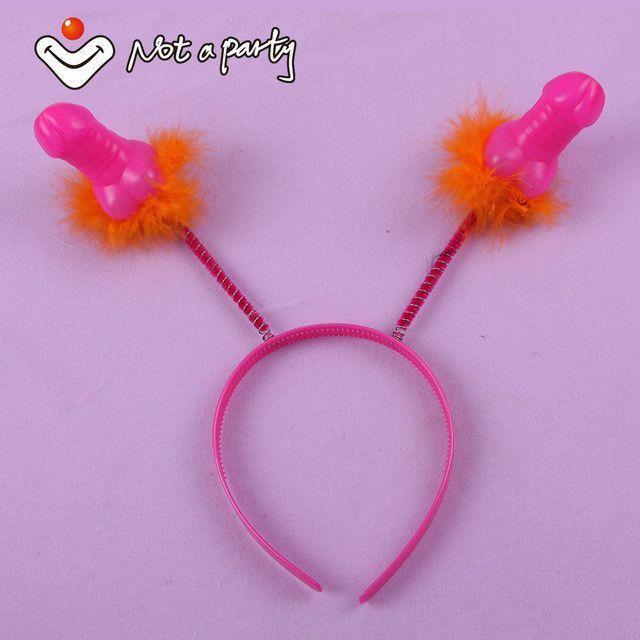 4pcs Sexy Willy Headbands!