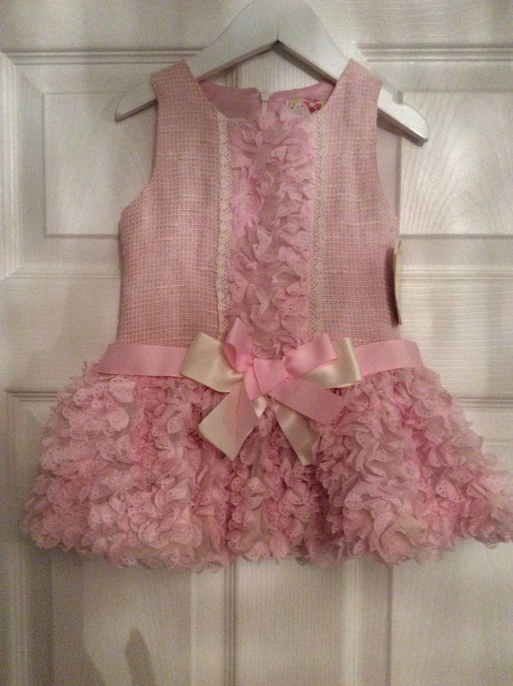 a6a88b3a5 Spanish baby girls Pink Dress spanish/ romany 12 -18 months BNWT ...