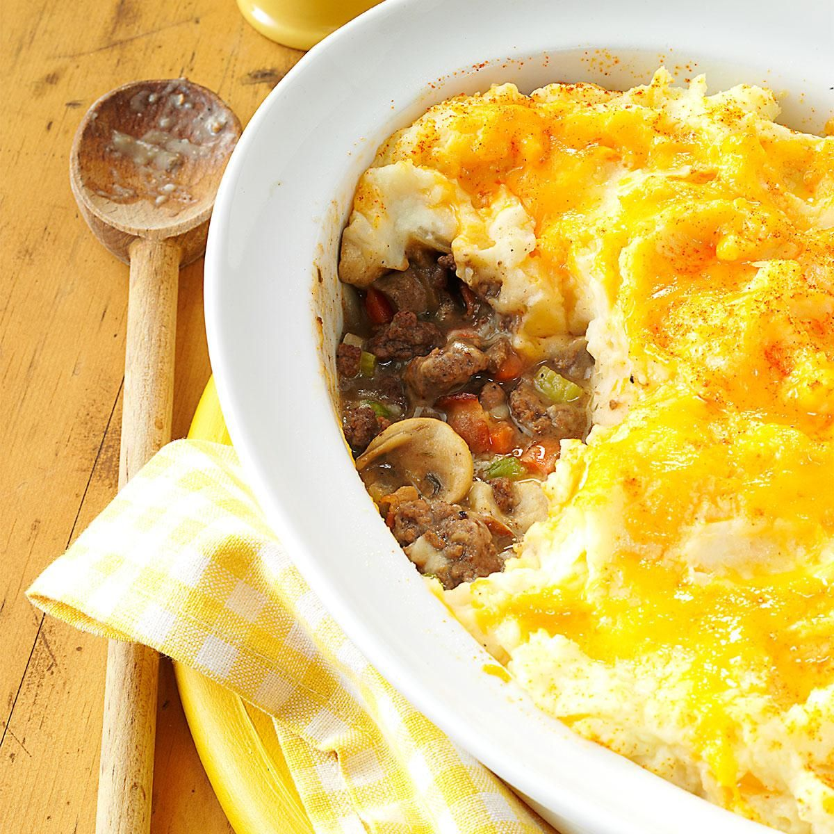 Mashed Potato Beef Casserole Recipe Recipes Mashed Potatoes Beef Casserole