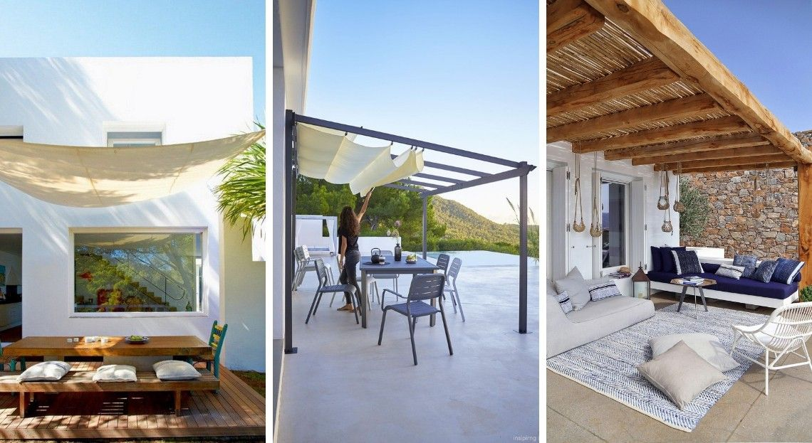 8 solutions pour couvrir sa terrasse   Terrasse et balcon   Terrasse ...