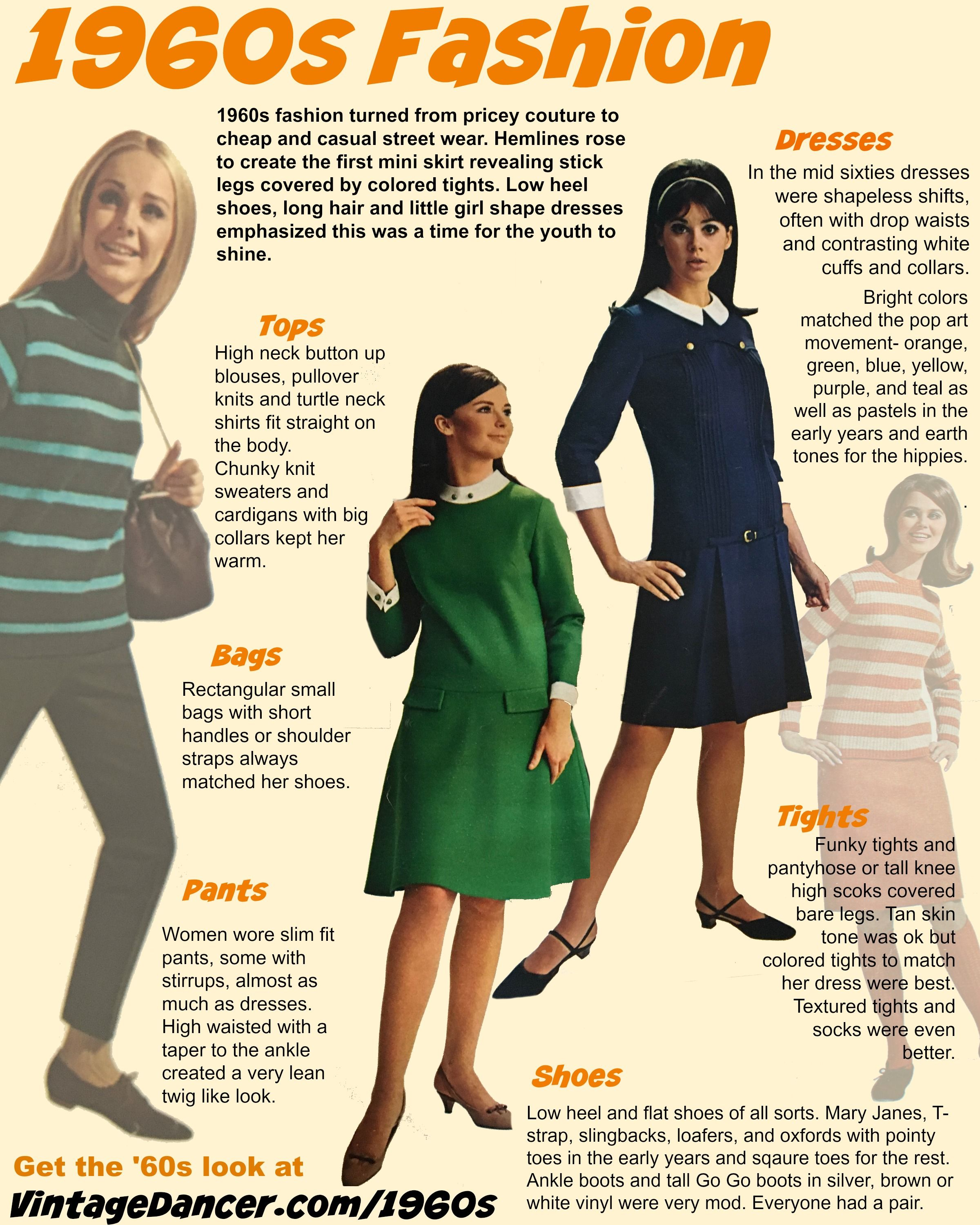 97951f629c01 1960s fashion for women. How to create the look with vintage inspired 1960s style  dresses