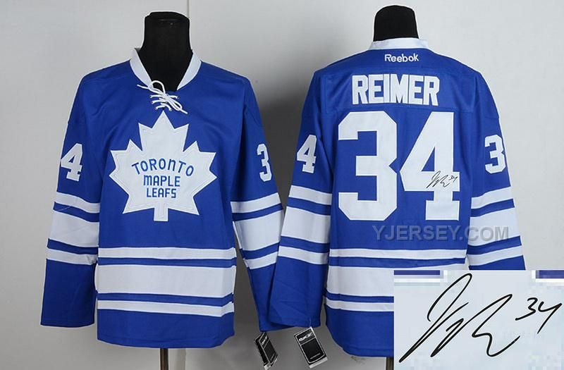 http://www.yjersey.com/for-sale-maple-leafs-34-reimer-blue-signature-edition-jerseys.html Only$50.00 FOR #SALE MAPLE LEAFS 34 REIMER BLUE SIGNATURE EDITION JERSEYS Free Shipping!