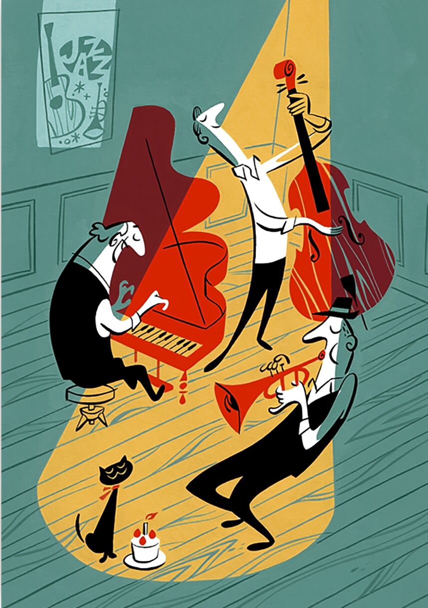 Satoshi Hashimoto | Música | Pinterest | Ilustraciones, Musica y Jazz