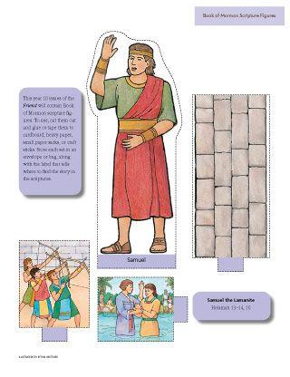 Samuel The Lamanite Scripture Figures Book Of Mormon Scriptures