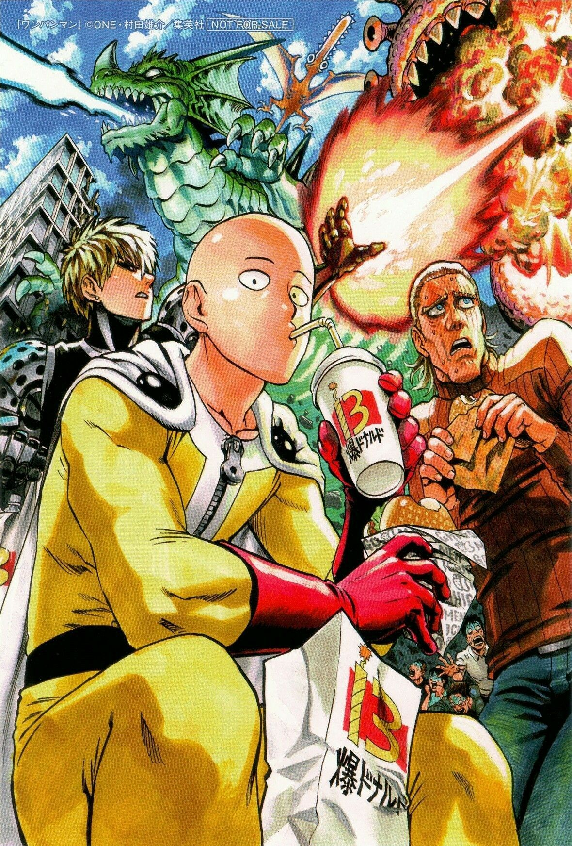 One punch man #onepunchman #fubuki  #saitama #tatsumaki #genosai