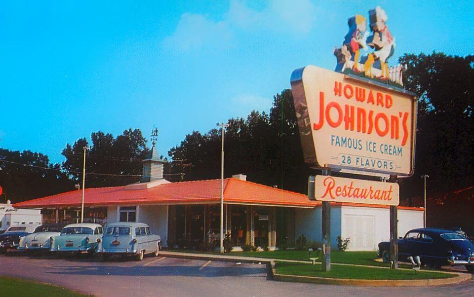 Howard Johnson 39 S Restaurant Charlotte Nc Vintage
