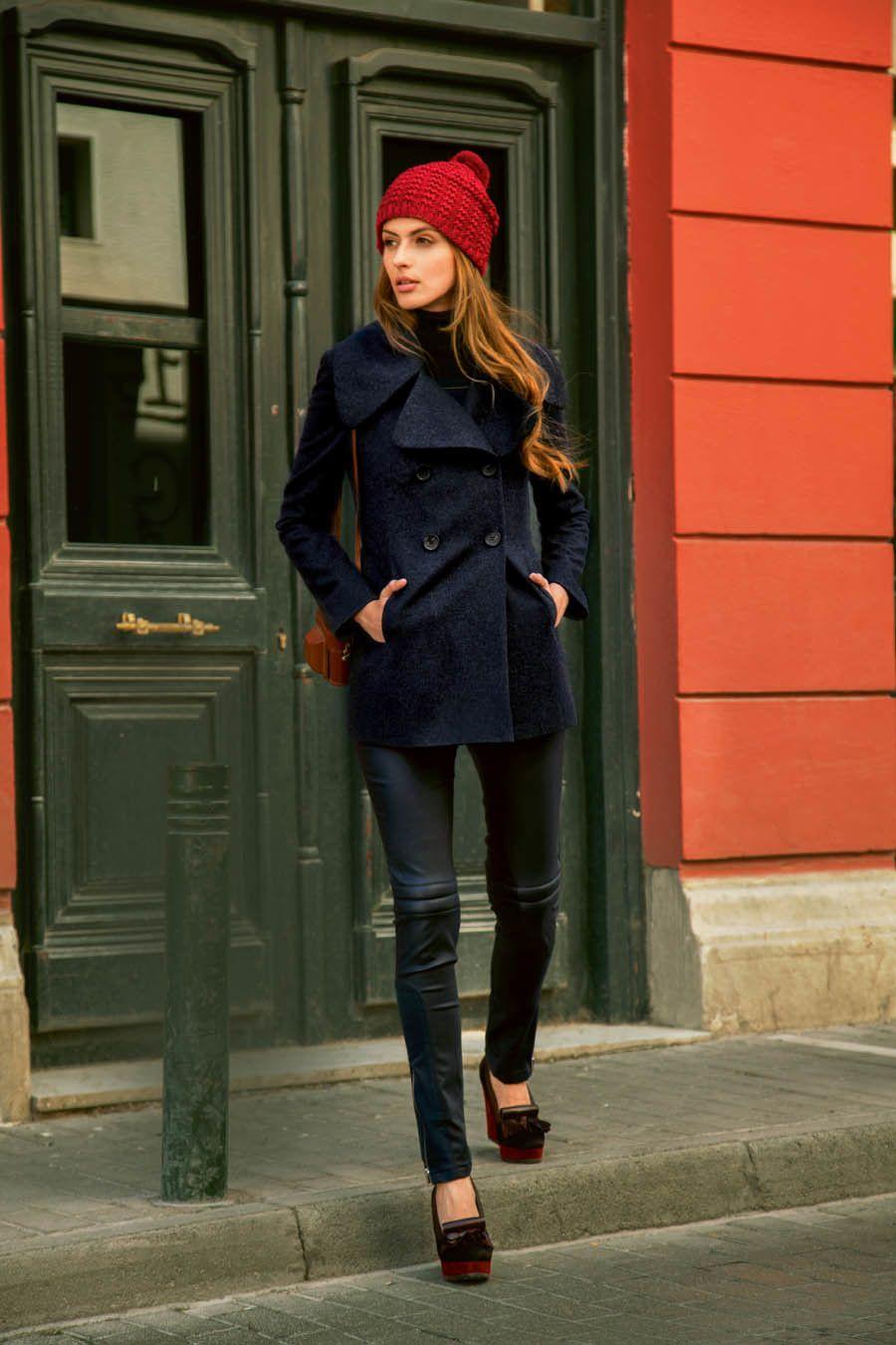 Cabanjacke 09 2015 104 Schnittmuster Damen Mode Zum