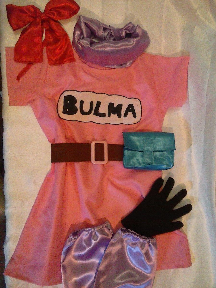 5d42c50e Disfraz De Bulma Dragon Ball Completo !! - $ 400,00 en MercadoLibre ...