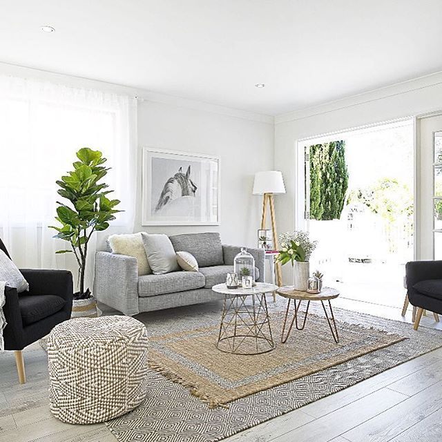 Home Decorating Ideas Living Room Calm And Cool In Chevy: A Calming Living Room Designed By Three Bird Renovations