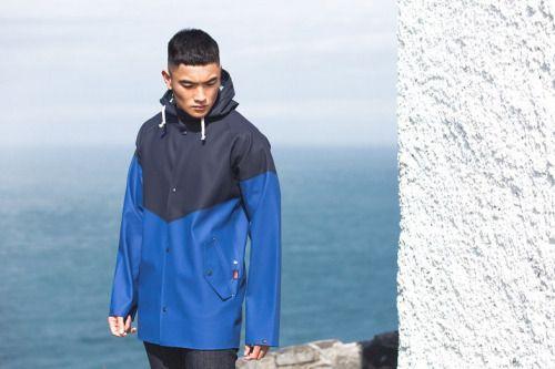 Elka x Ellesse FW16. Glacier Jacket.  menswear mnswr mens style mens fashion fashion style elka ellesse campaign lookbook